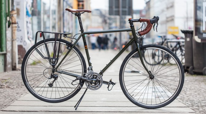 Pistrada Fuji Touring Dark Green 2016