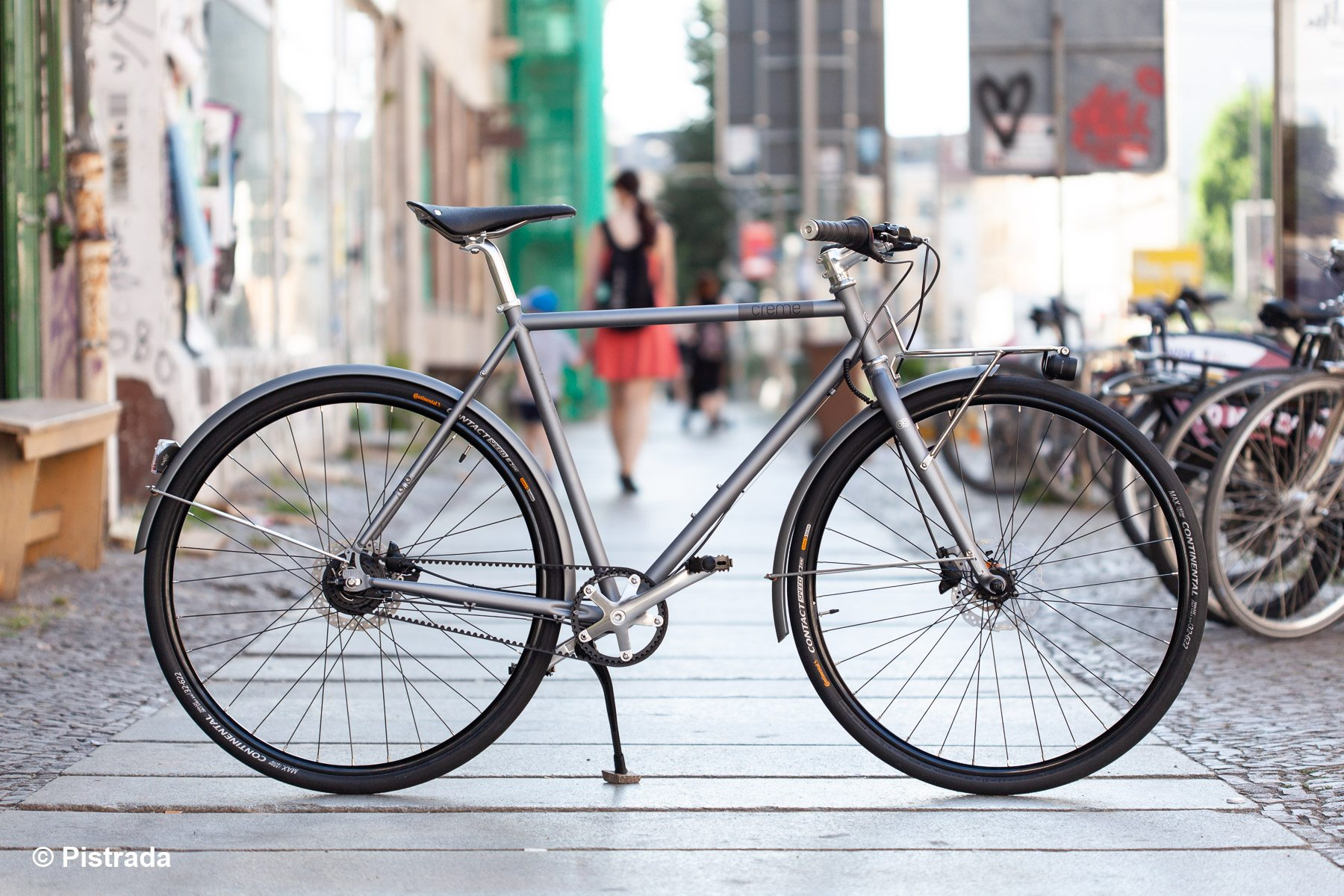 Creme Cycles > Ristretto Thunder, sportlicher Tourer und Commuter