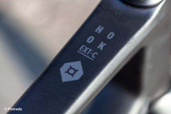 Modellbezeichnung am Rahmen - Bombtrack - The Hook EXT - 2019 - Pistrada Fahrradladen Leipzig