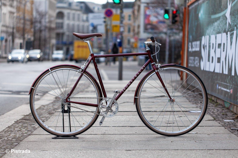 Bombtrack Oxbridge > Stilvolles und klassisches Singlespeed-Bike