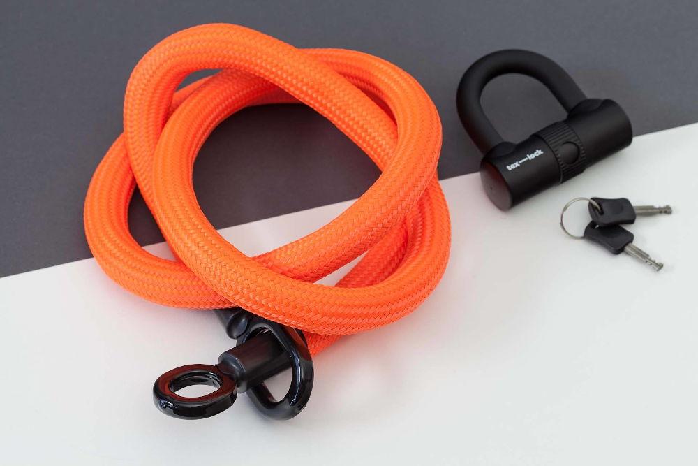pistrada tex-lock eyelet L orange u lock