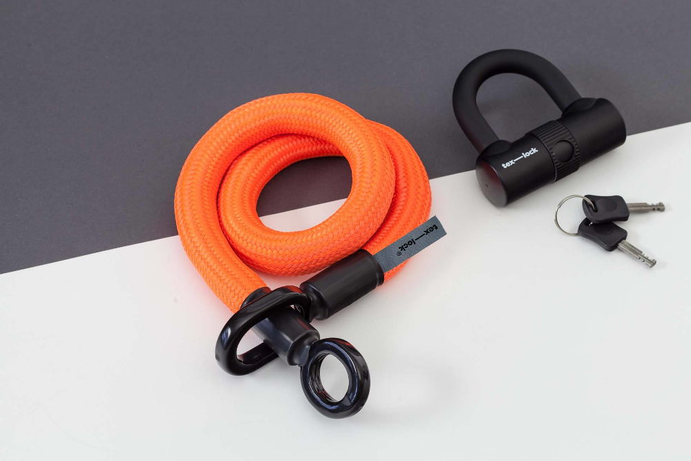 Pistrada Tex-Lock eyelet orange
